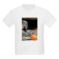Lemur Pumpkin Kids Light T-Shirt
