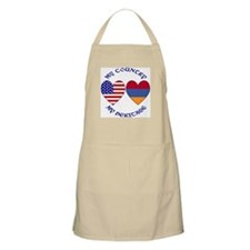Armenia / USA Country Heritage BBQ Apron