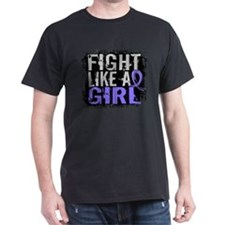 Fight Like a Girl 31.8 Esophageal Cancer T-Shirt