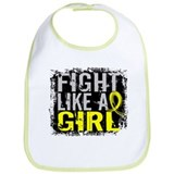 Fight Like a Girl 31.8 Endometriosis Bib