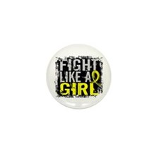Fight Like a Girl 31.8 Endometriosis Mini Button