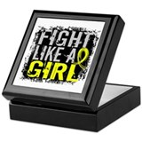 Fight Like a Girl 31.8 Endometriosis Keepsake Box