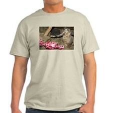 Chipmunk With Present Light T-Shirt