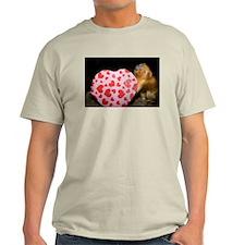 Tamarin With Valentines Gift Light T-Shirt