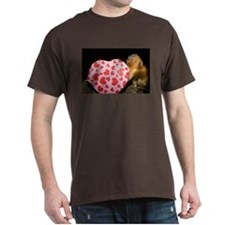 Tamarin With Valentines Gift Dark T-Shirt