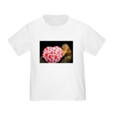 Tamarin With Valentines Gift Toddler T-Shirt