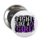 Fight Like a Girl 31.8 Cystic Fibrosis 2.25&quot; Butto