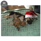 Christmas German Shepherd Puzzle
