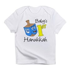 Babys First Hanukkah Infant T-Shirt