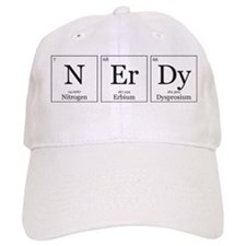 NErDy [Chemical Elements] Baseball Cap