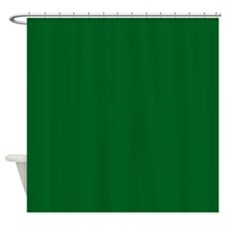 Yellow, Green Solid Shower Curtain