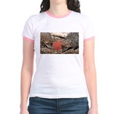 Hedgehog Heart Jr. Ringer T-Shirt