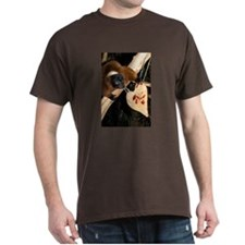Red Ruffed Lemur with Heart T-Shirt