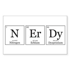 NErDy [Chemical Elements] Decal