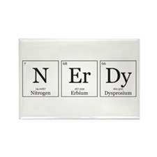 NErDy [Chemical Elements] Rectangle Magnet