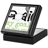 My Goal Keepsake Box