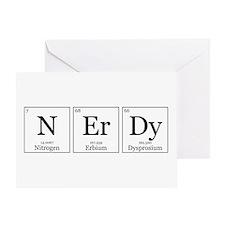 NErDy [Chemical Elements] Greeting Card