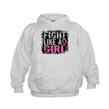 Fight Like a Girl 31.8 Breast Cancer Hoodie