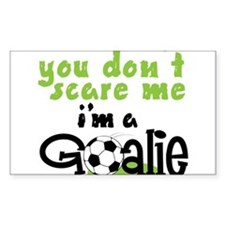 I'm A Goalie Decal