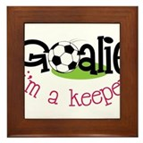 I'm A Keeper Framed Tile