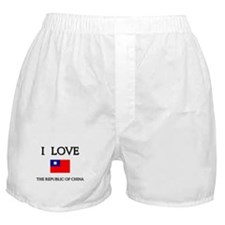 Flag of The Republic Of China Boxer Shorts