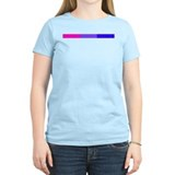 Bi Pride Horizontal Bar T-Shirt