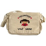Personalized Volunteer Librarian Messenger Bag