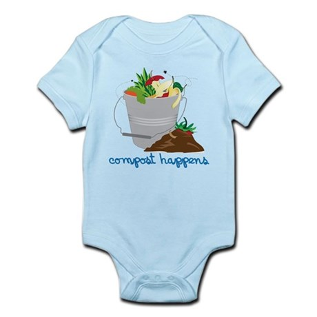 Compost Happens Infant Bodysuit