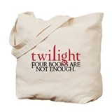 Unique Twilight book Tote Bag