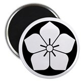 Balloon flower in rice cake Magnet