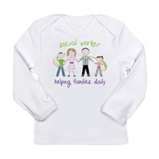 Helping Families Daily Long Sleeve Infant T-Shirt
