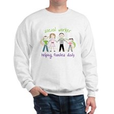 Helping Families Daily Sweatshirt
