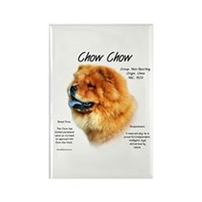 Chow Chow Rectangle Magnet