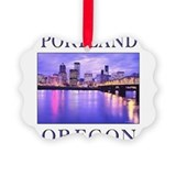 Cute Oregon Picture Ornament