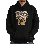 Dorgi Dog Dad Hoodie (dark)
