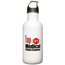 Top Medical Claims Examiner Water Bottle