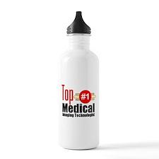 Top Medical Imaging Technologist Water Bottle