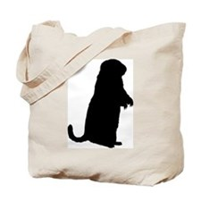 Prairie Dog (Silhouette) Tote Bag
