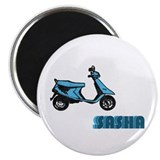 "Scooter Sasha 2.25"" Magnet (10 pack)"