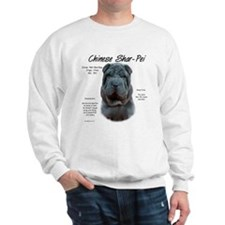 Blue Chinese Shar-Pei Sweatshirt