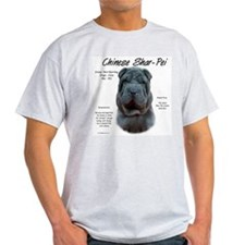 Blue Chinese Shar-Pei T-Shirt