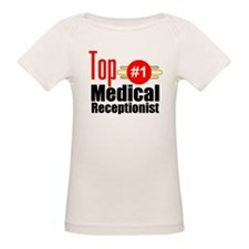 Top Medical Receptionist Tee