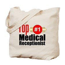 Top Medical Receptionist Tote Bag