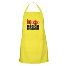 Top Medical Receptionist Apron