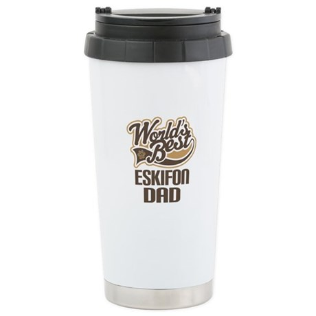 Eskifon Dog Dad Ceramic Travel Mug