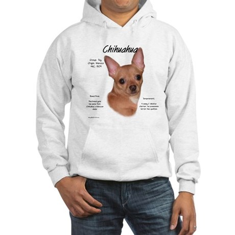 Smooth Chihuahua Hooded Sweatshirt