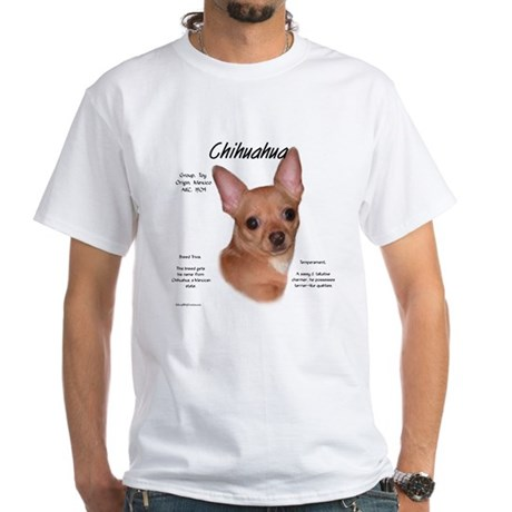 Smooth Chihuahua White T-Shirt