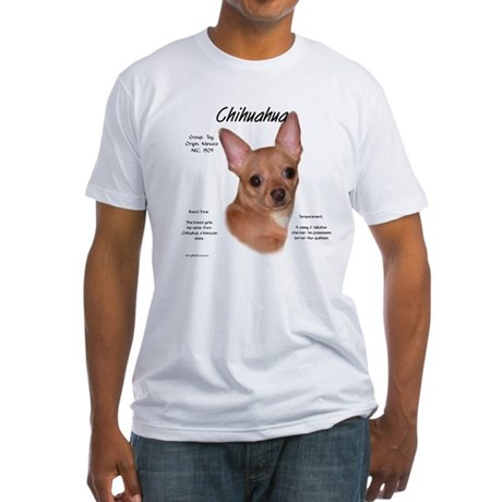 Smooth Chihuahua Fitted T-Shirt