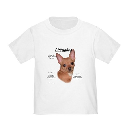 Smooth Chihuahua Toddler T-Shirt