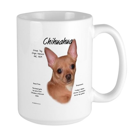 Smooth Chihuahua Large Mug